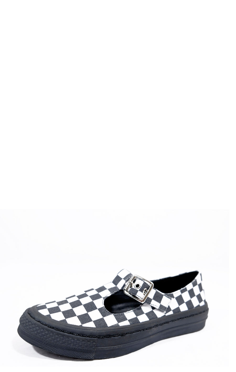 Sweet Jane Checkered Mary Jane Sneaker