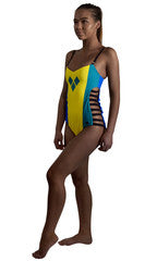 St Vincent & the Grenadines Caribbean women's reversible swimsuit