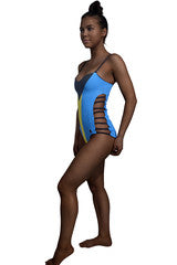 The Bahamas Caribbean women's reversible swimsuit