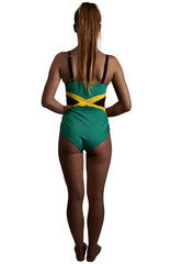 Jamaica Caribbean women's reversible swimsuit