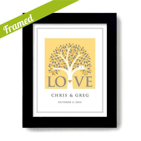 Love Tree Wedding Gift