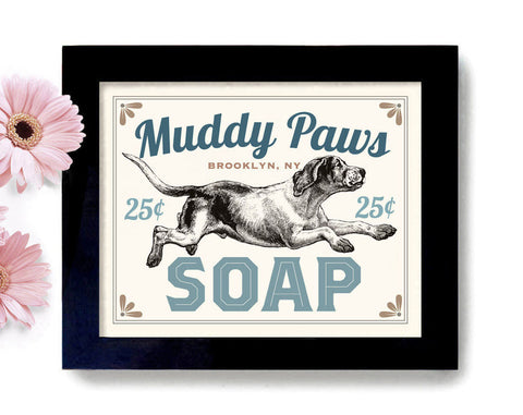 Muddy Paws Soap