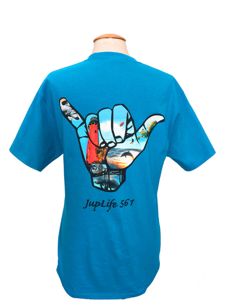 JupLife 561 100% Cotton Short Sleeve Men's Tee