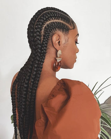 Cornrows Protective Hairstyle