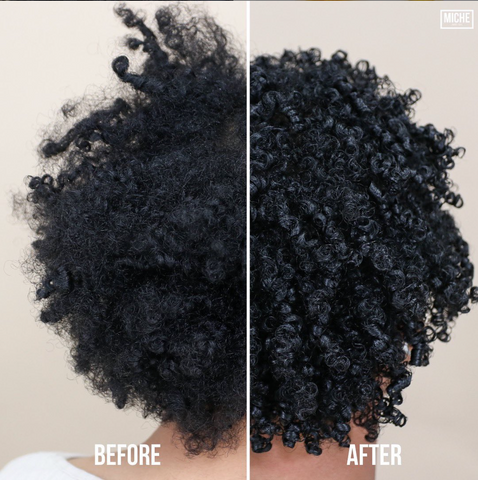 How to get defined natural hair curls with shingle method