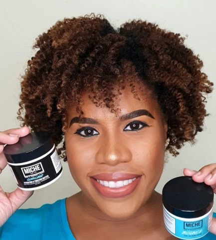 Healthy Natural Hair With Miche Beauty Products