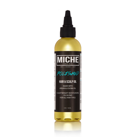 POLISHED hair and scalp oil MICHE beauty
