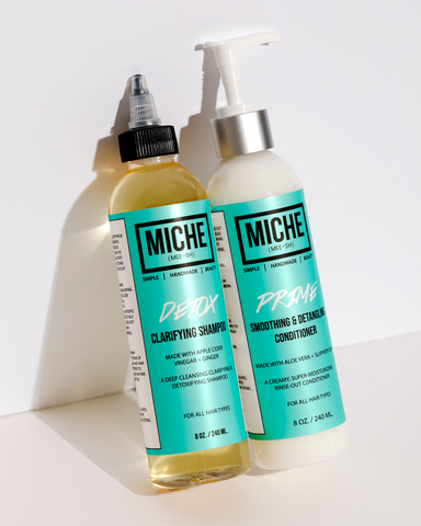 Miche Shampoo and Conditioner for Natural Hair