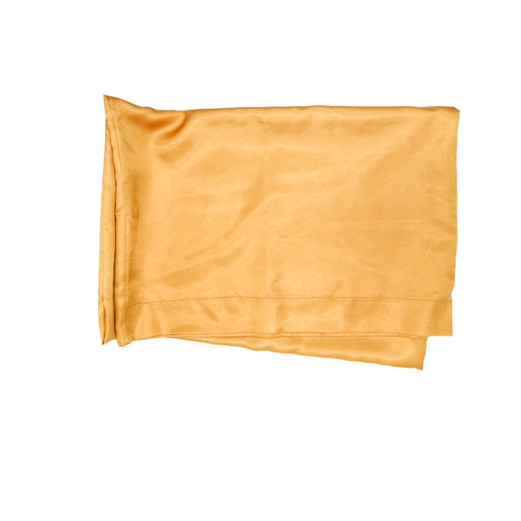 Glamorous Gold Satin Pillowcase (4604345024570)