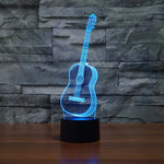 Acoustic Guitar Led Lamp