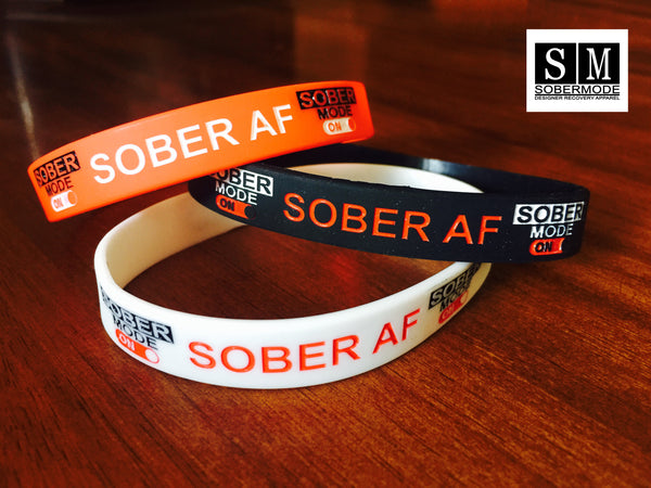 Sobermode 3 Pack Rubber Wristbands