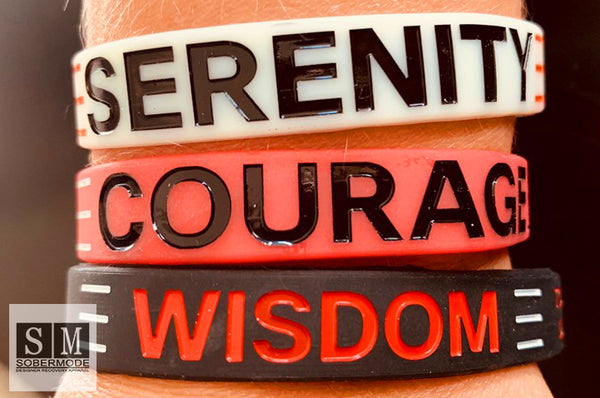 Serenity Prayer Wristbands