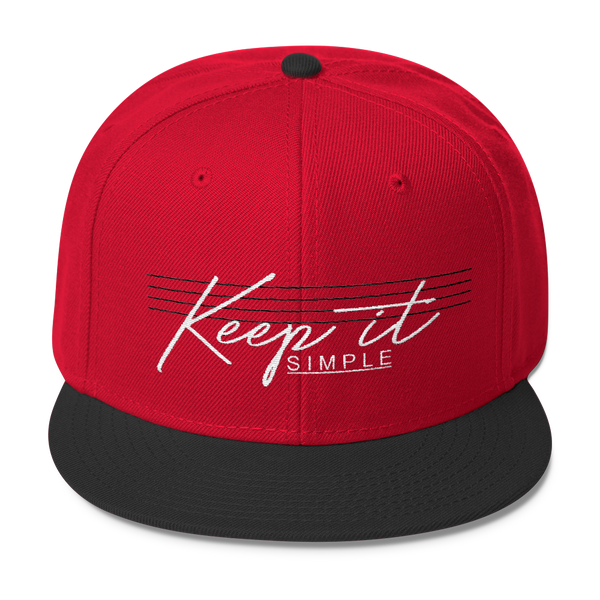 Keep It Simple Snapback- Sobermode