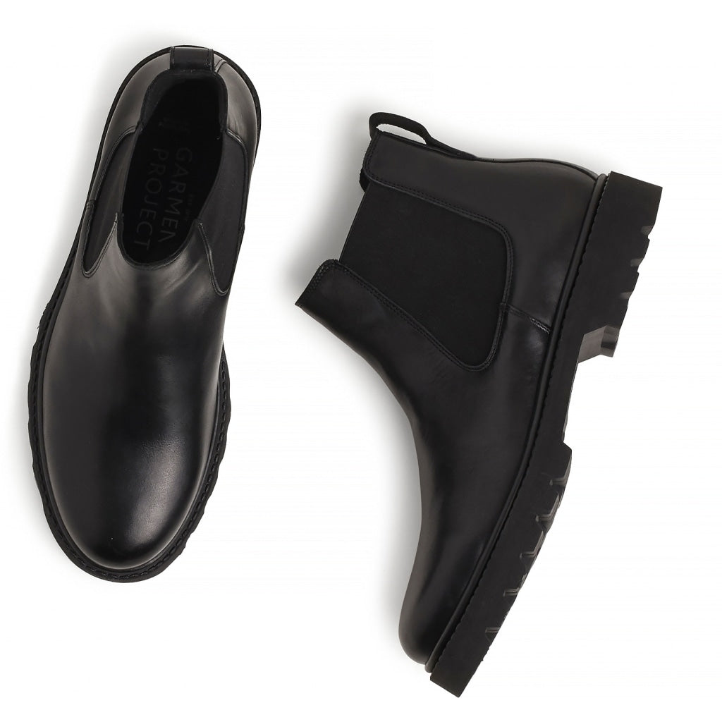 Chelsea Boot, black leather