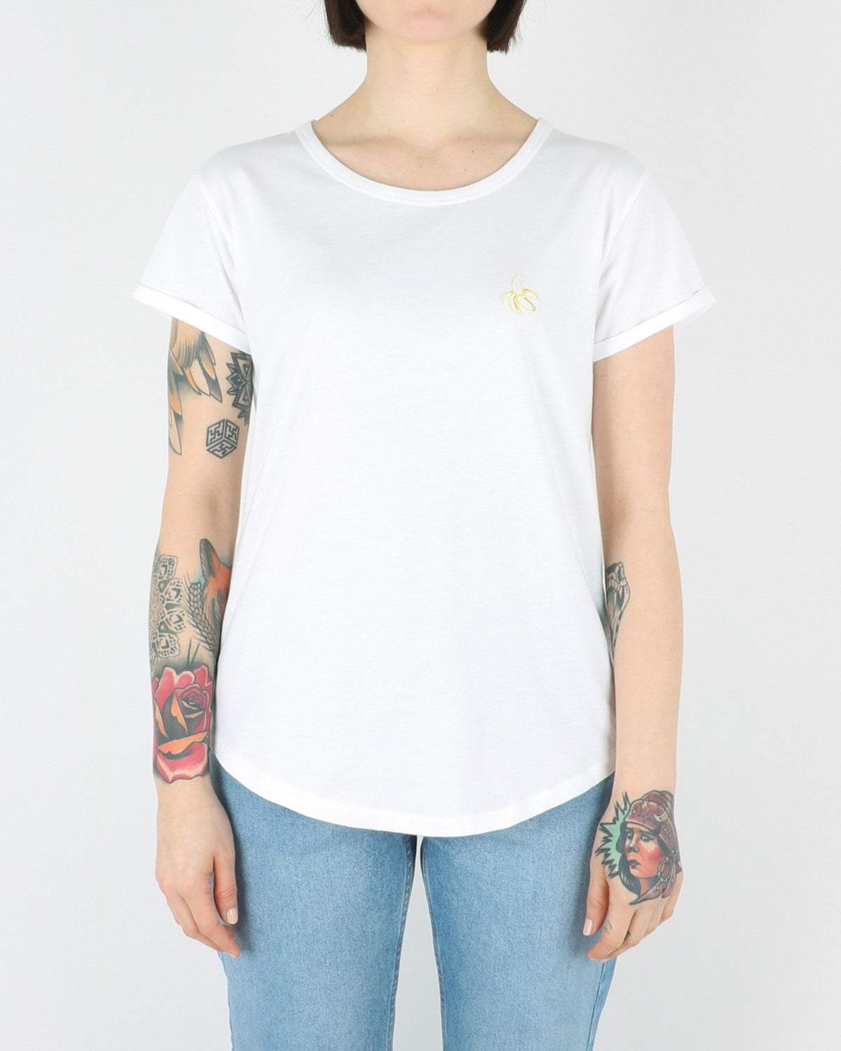 Banana T-Shirt, white