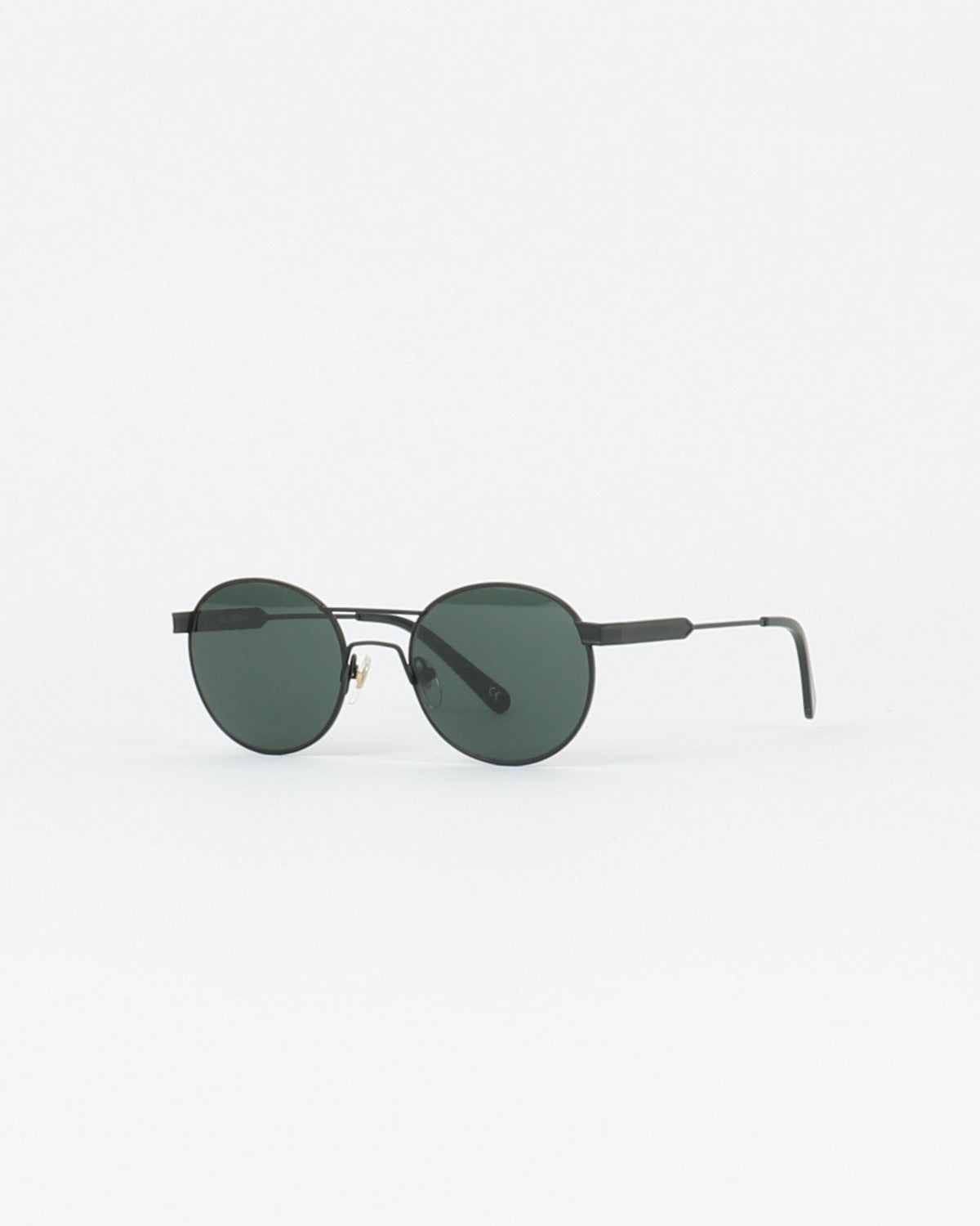 han kjobenhavn_green sunglasses_black matt_view_1_4