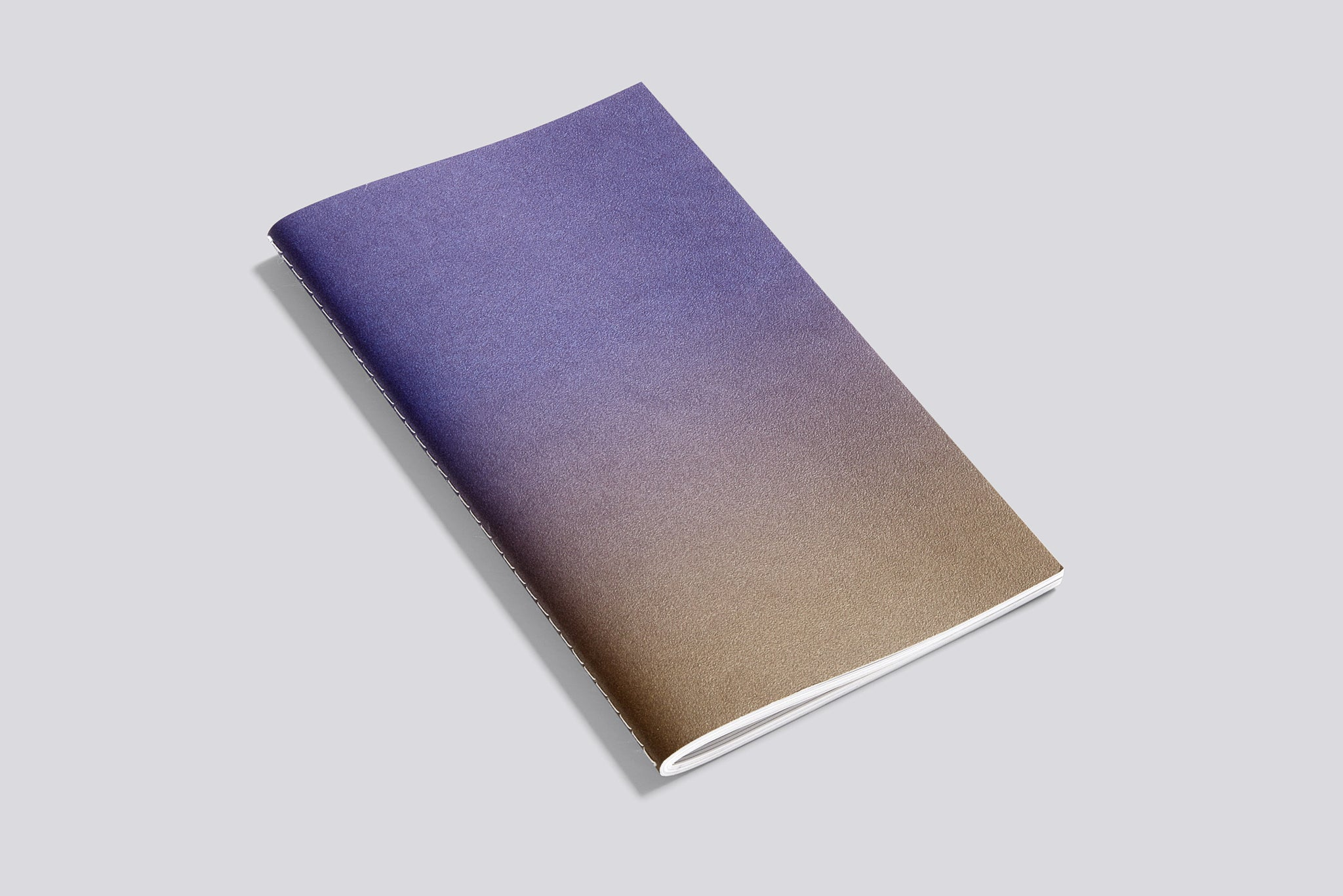 Hay Horizon Notebook, brown-violet