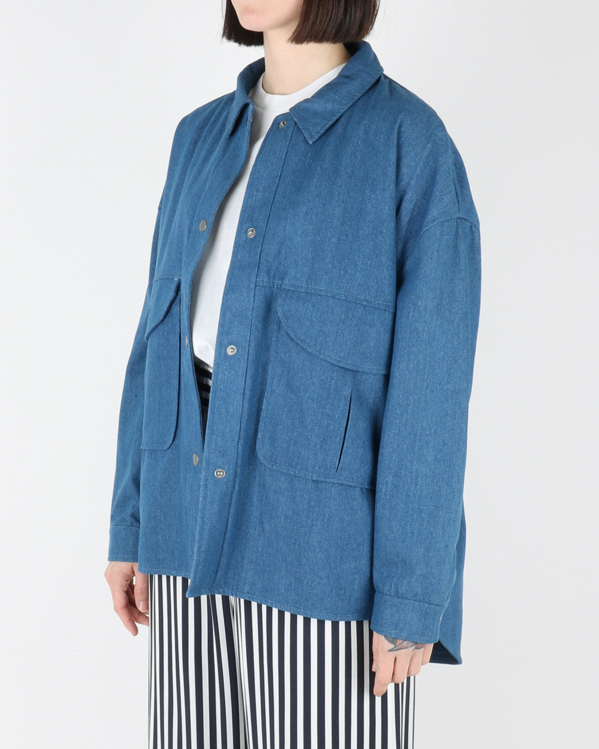 Jacket Light 77037, light blue