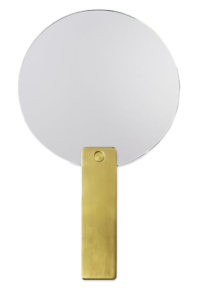 Hay Mirror Mirror, gold brass