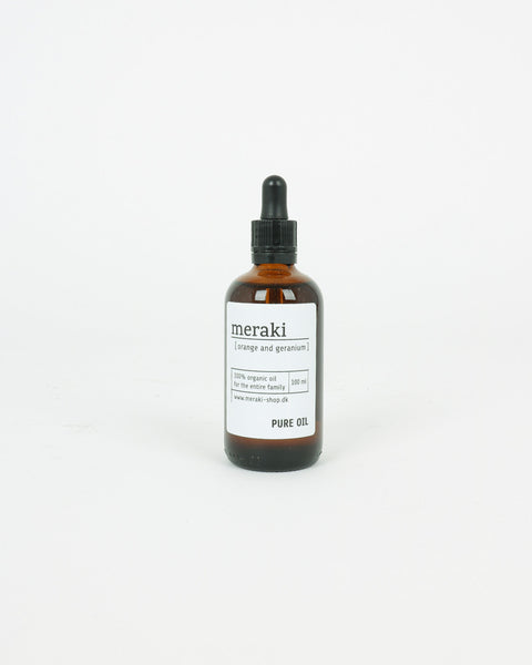 Meraki Skincare Pure Oil Mkhc020, Orange & Geranium, 100ml