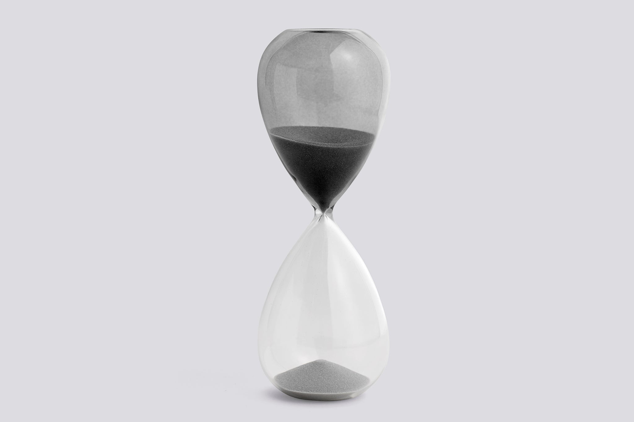 Hay Time Hourglass L, grey