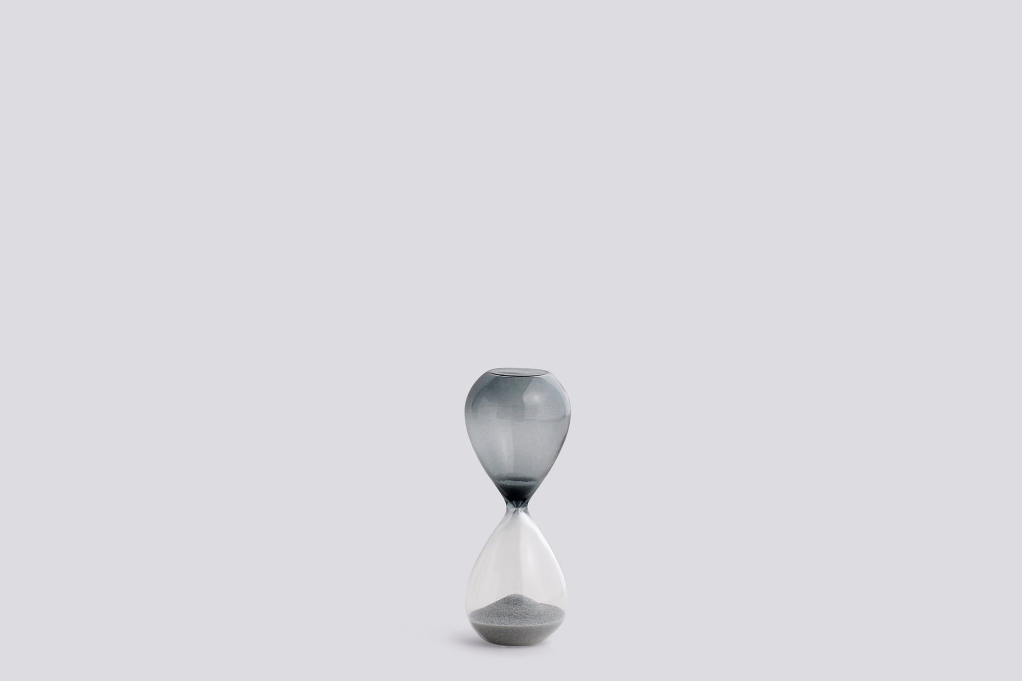 Hay Time Hourglass S, silver