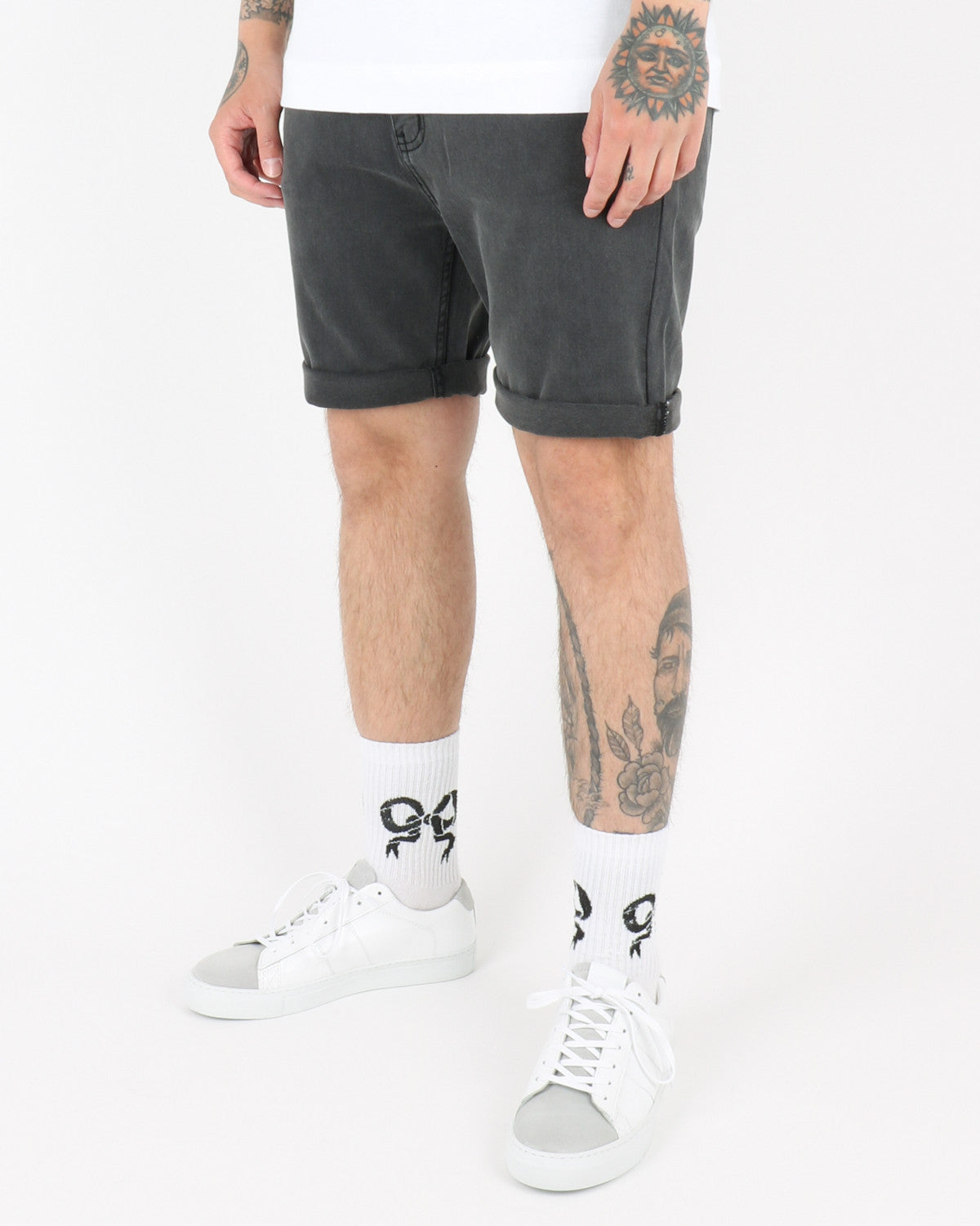 Tjubada Shorts, grey