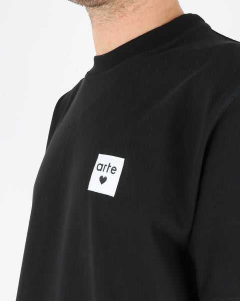 arte_toby heart label t-shirt_black_3_3