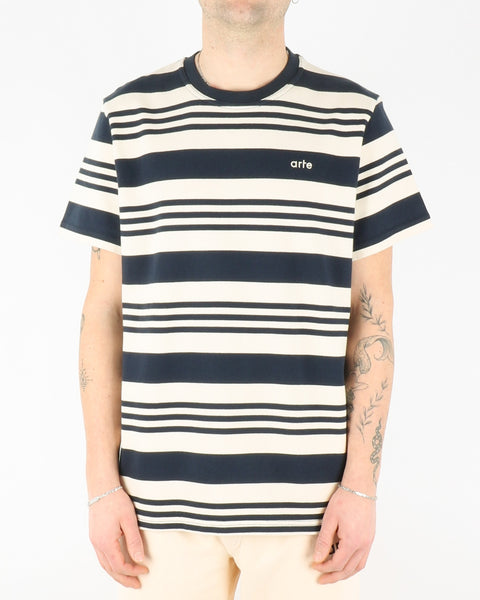 arte_tomi stripes t-shirt_navy creme_1_3