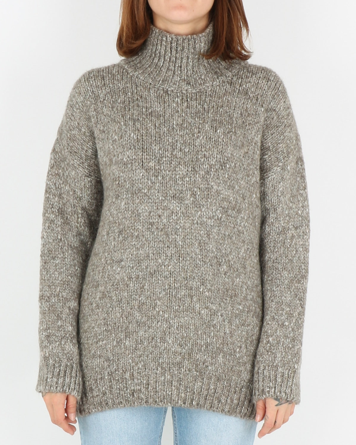 basic apparel_aliki t-neck_warm grey mel_1_4