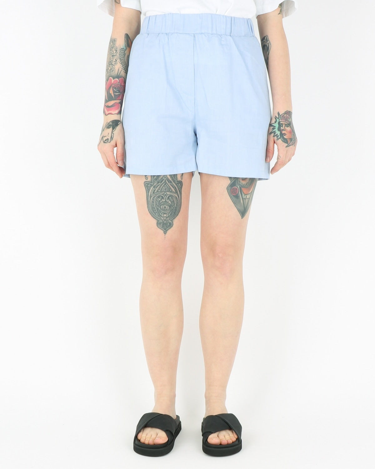 basic apparel_helle shorts_light blue_1_3