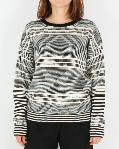 basic apparel_maja sweater_antracit off_1_5
