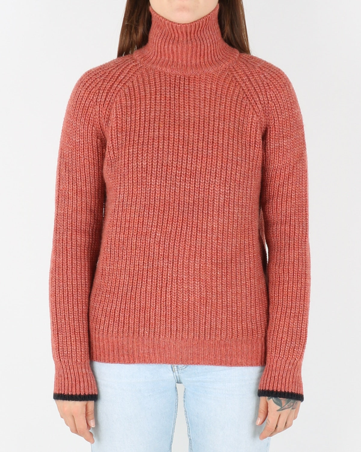 basic apparel_pernille turtleneck_dull rose_view_1_4
