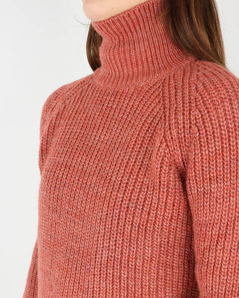 basic apparel_pernille turtleneck_dull rose_view_3_4
