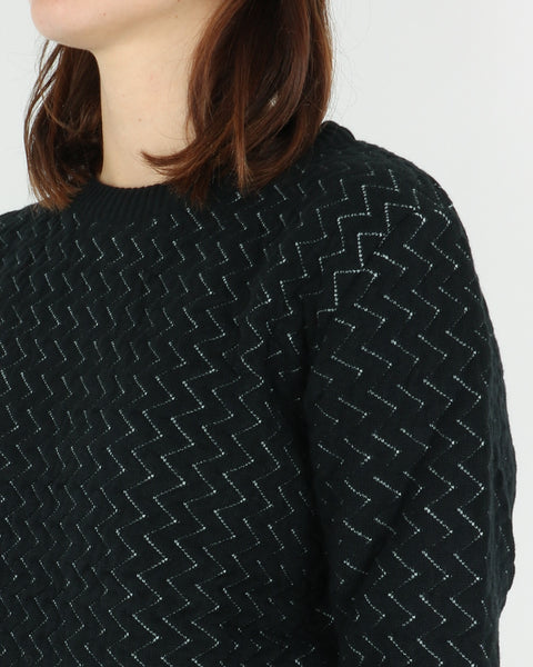 basic apparel_tea knit_black_view_3_3