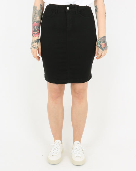 basic apparel_eve denim skirt_black_1_2