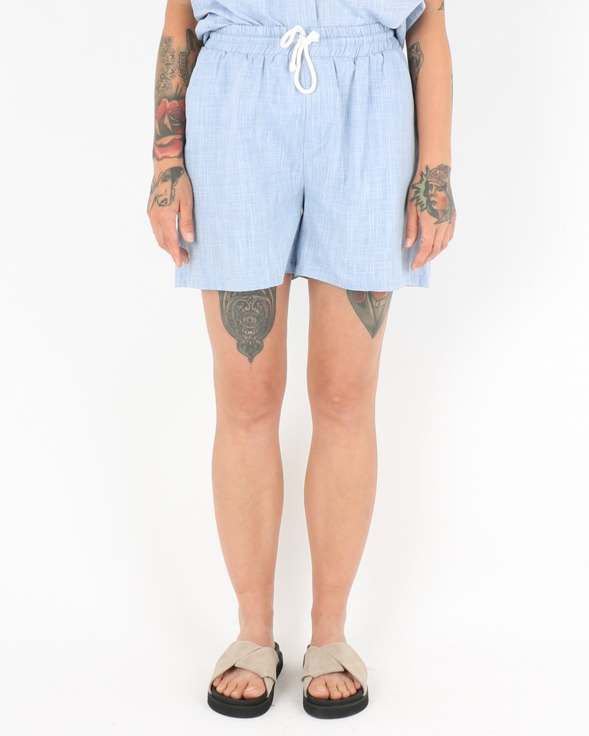 basic apparel_harriet shorts_blue_1_3