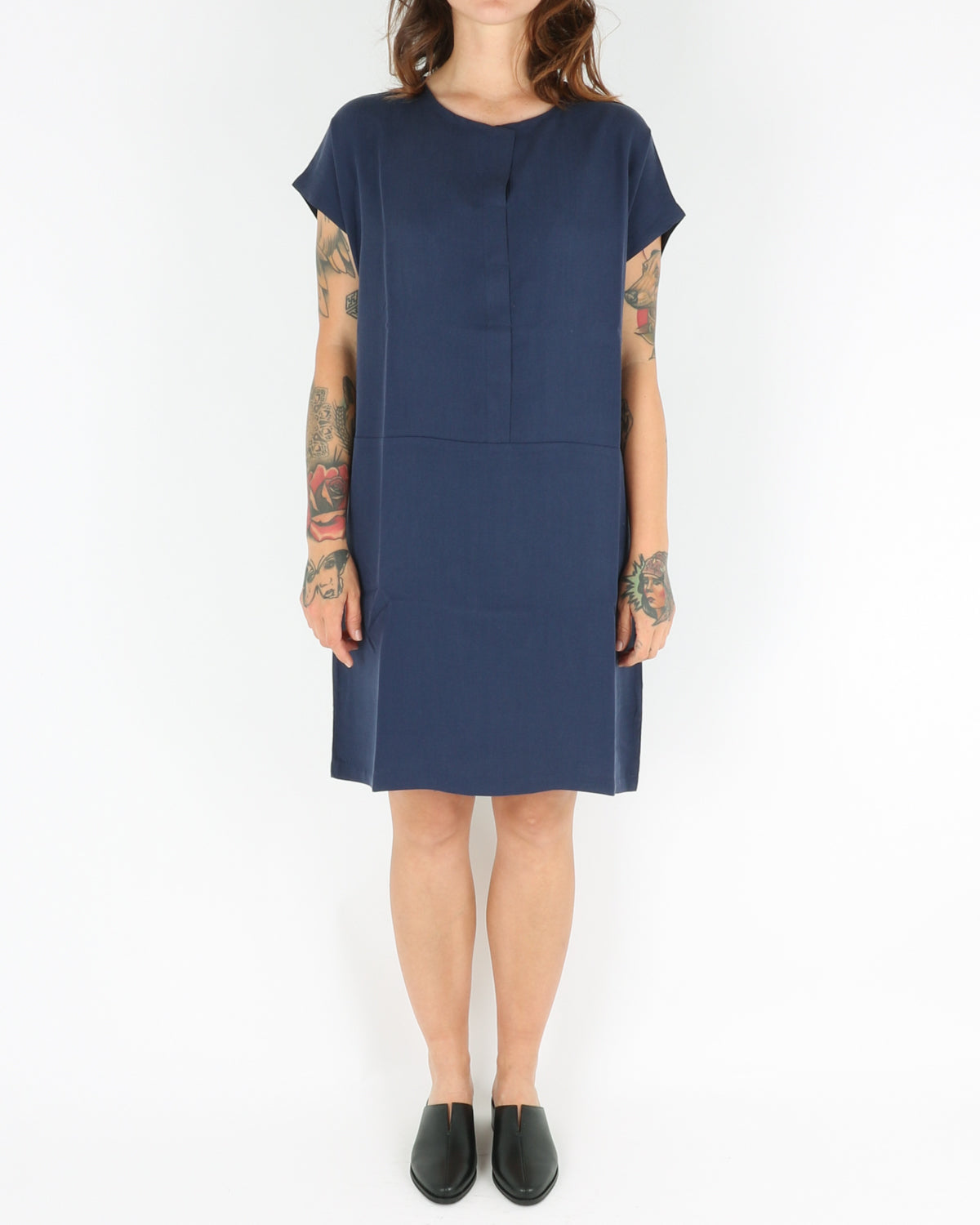 basic apparel_ines dress_navy_1_4