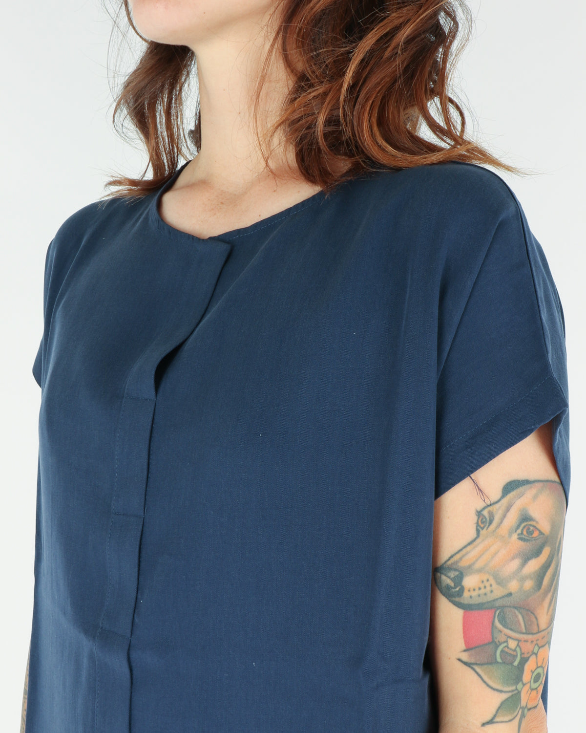 basic apparel_ines dress_navy_3_4