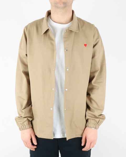 brosbi_coach jacket icon heart_khaki_1_3