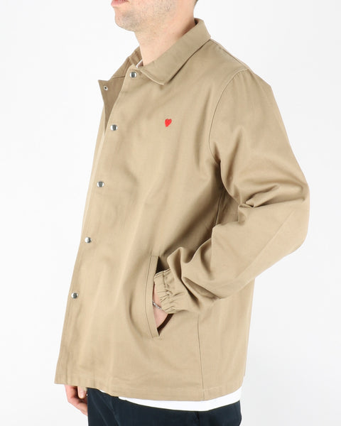 brosbi_coach jacket icon heart_khaki_3_3