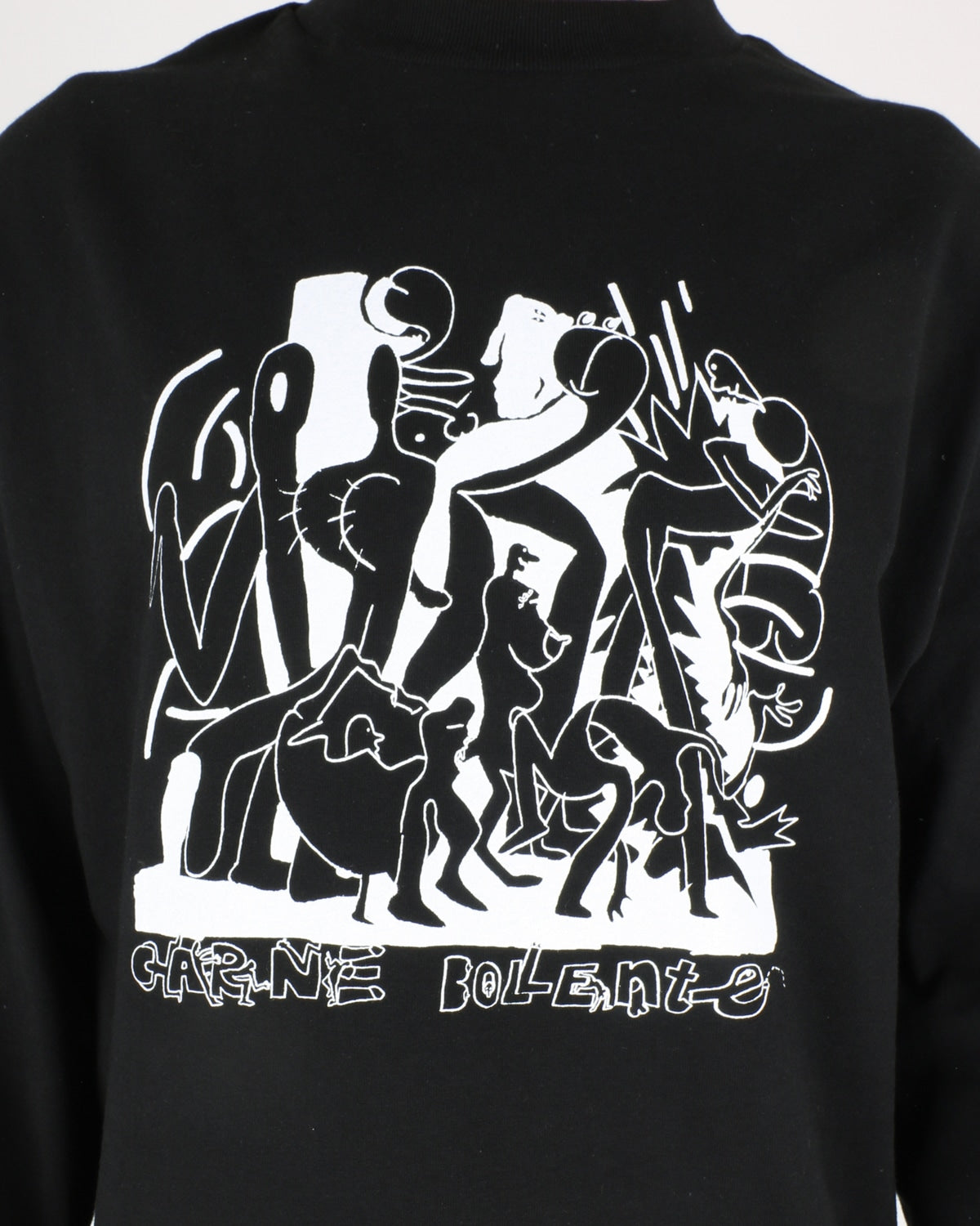 carne bollente_chicken wings of desire longsleeve_black_4_5