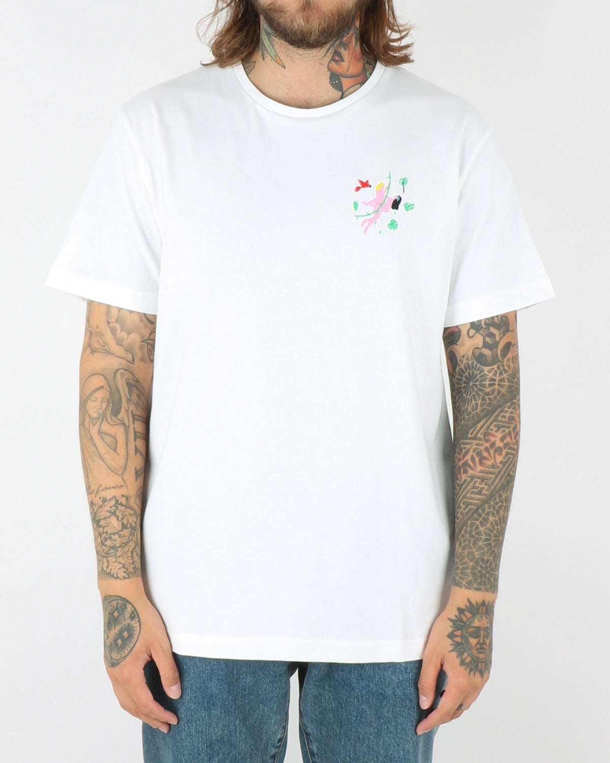 carne bollente_no pain no jane_t-shirt_white_view_1_4