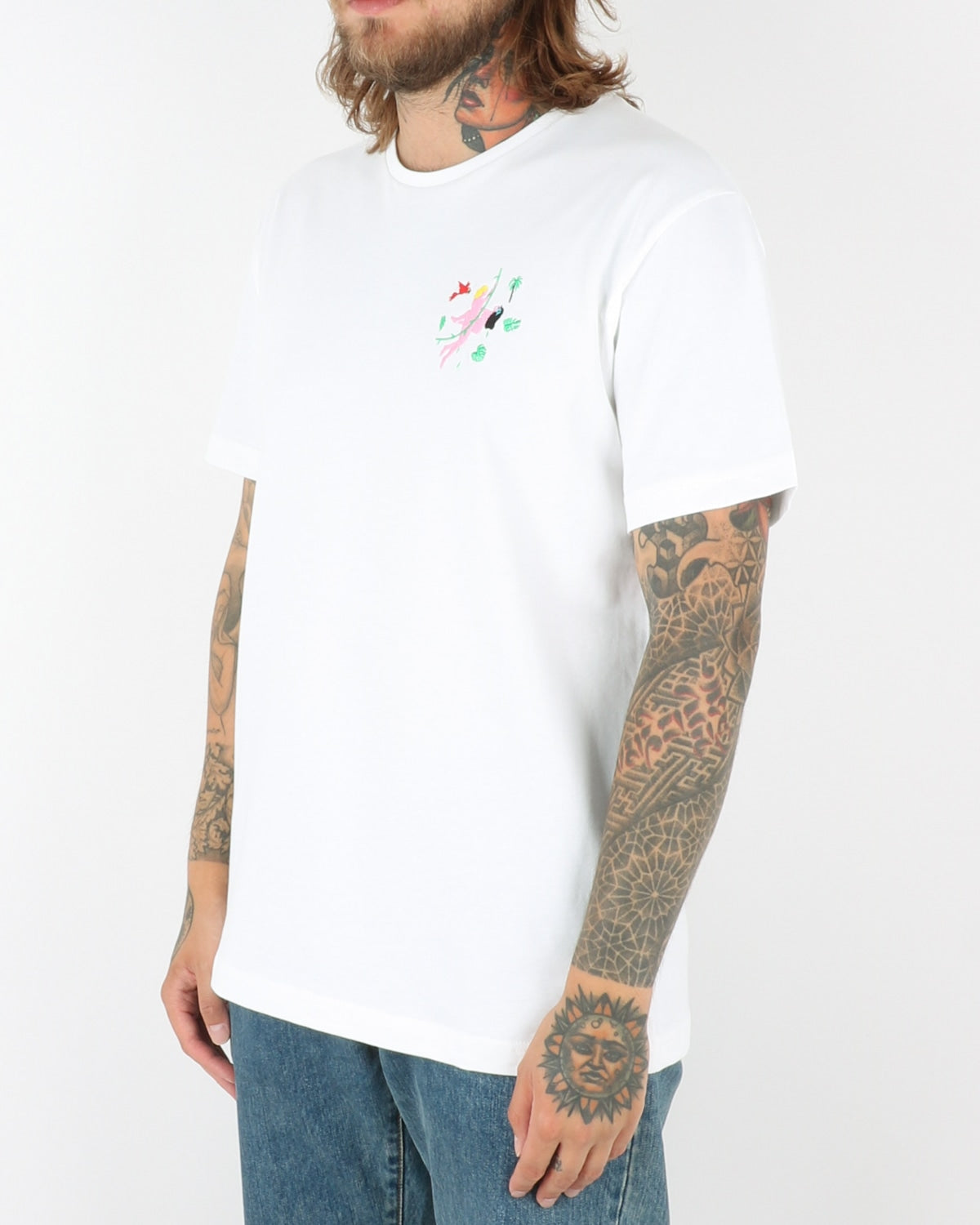 carne bollente_no pain no jane_t-shirt_white_view_2_4