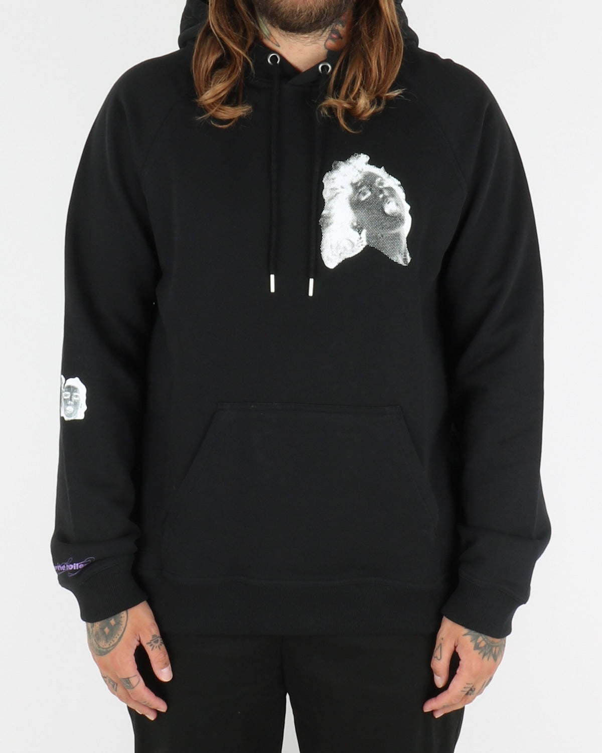 carne bollente_rhaa lovely hoodie_black_view_1_4