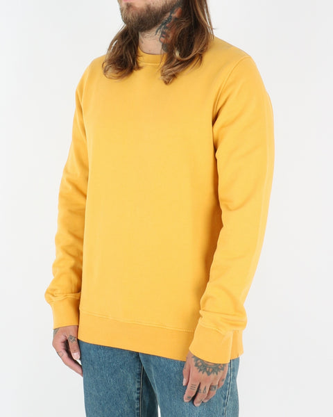 colorful standard_classic organic crew neck_burned yellow_2_2