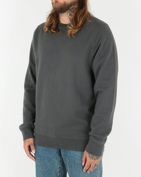 colorful standard_classic organic crew neck_lava grey_2_2