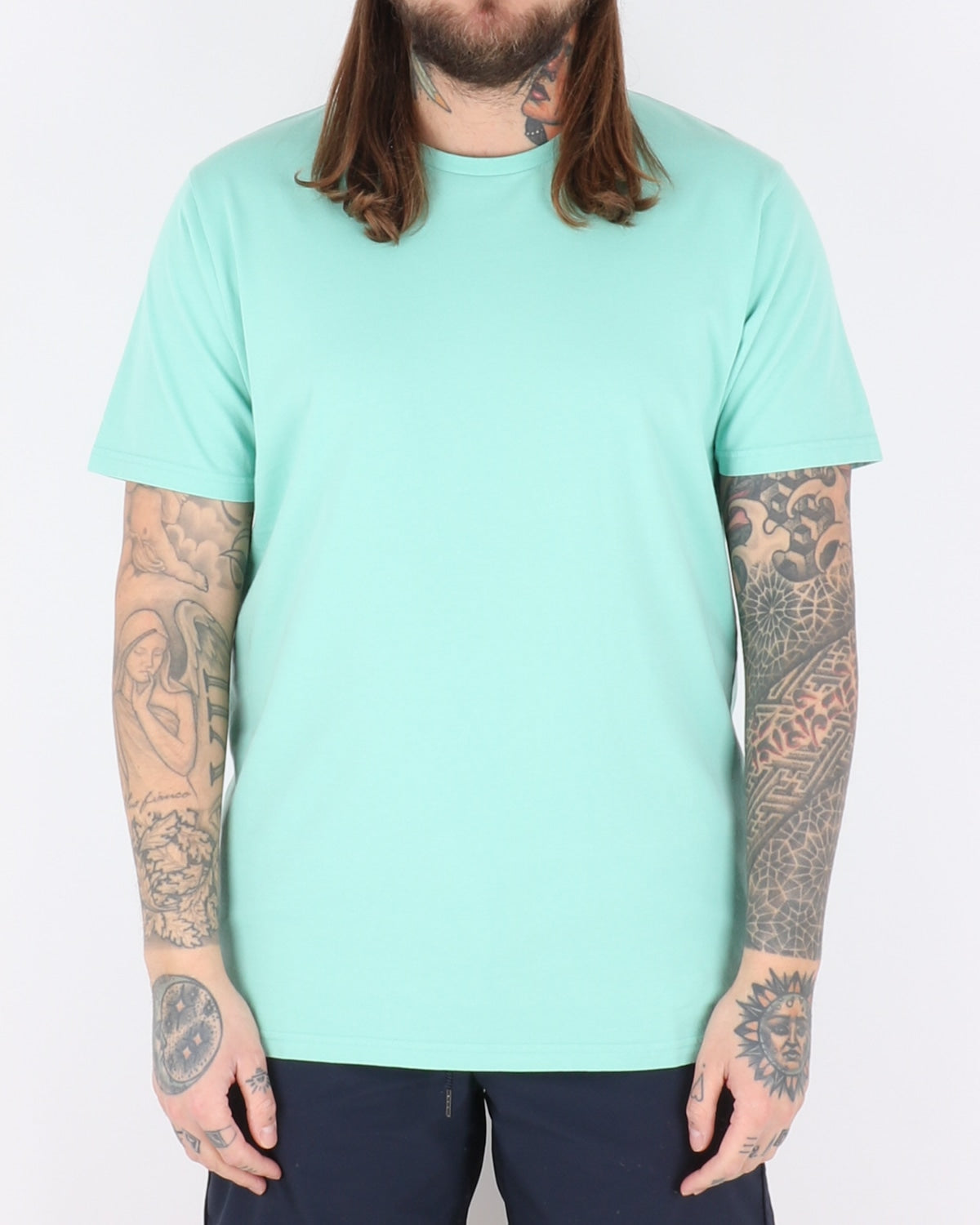 colorful standard_classic organic tee_faded mint_1_2
