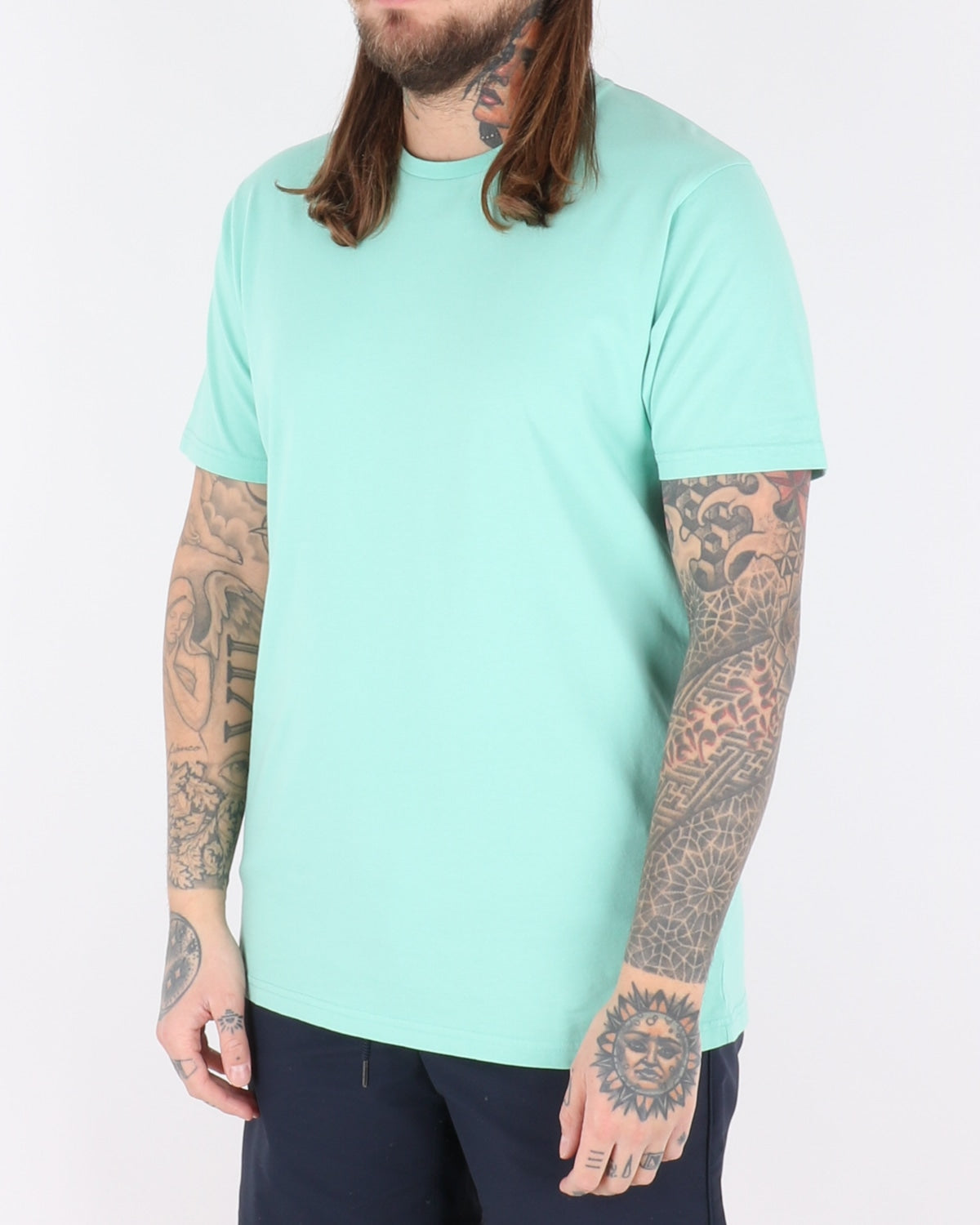 colorful standard_classic organic tee_faded mint_2_2