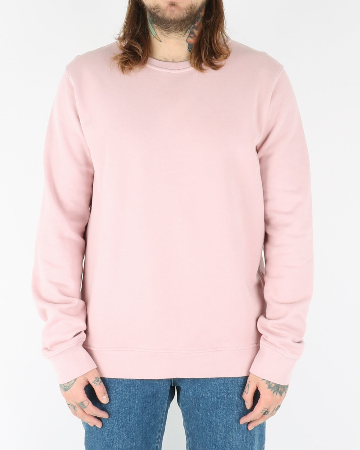 colorful standart_classic organic crew_faded pink_view_1_2